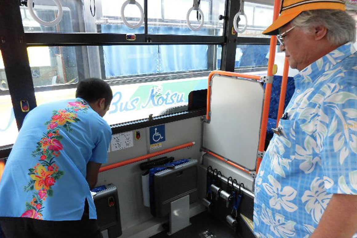 株式会社琉球バス交通 豊崎営業所のPRポイント1